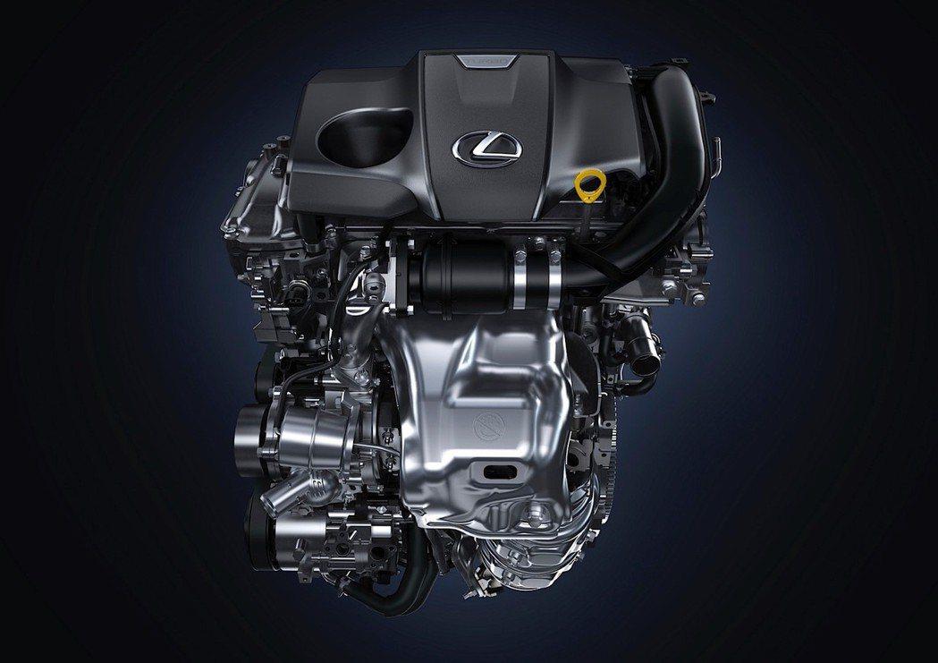 原廠代號8AR-FTS的2.0升直噴渦輪增壓引擎。 圖/Lexus提供