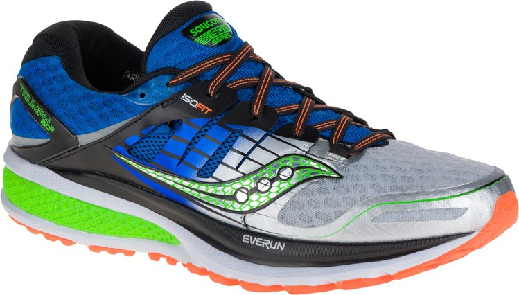 獲得專業雜誌評選「最佳跑鞋」殊榮的Saucony ISO TRIUMPH ISO...
