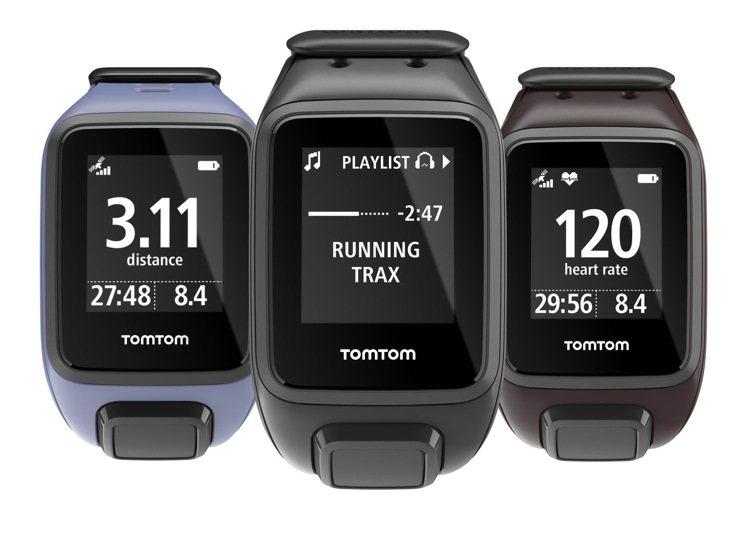 TomTom SPARK音樂心率健身運動手表,售價8,800元。圖/TomTom...