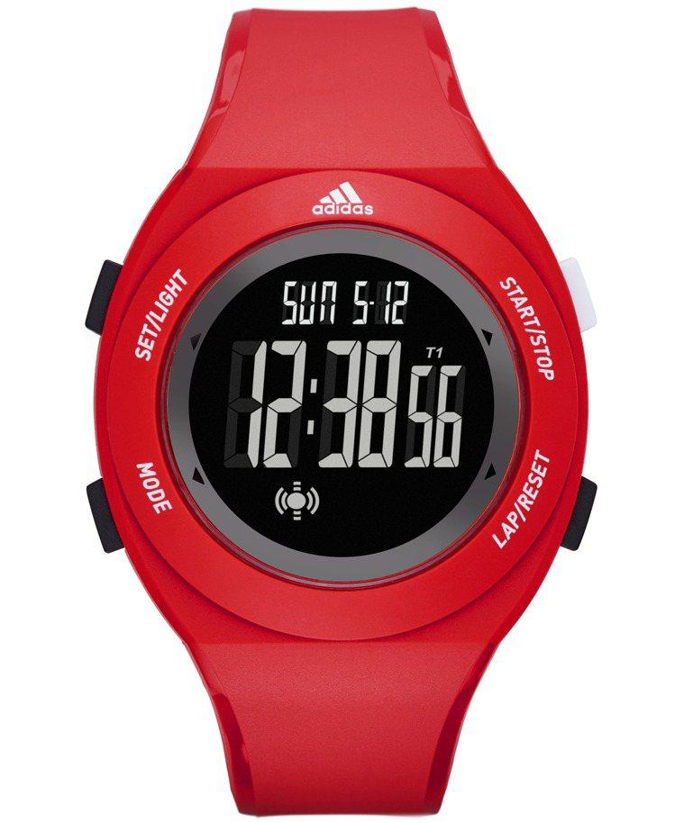 adidas Sprung系列入門款運動腕表,入門款1,980元。圖/台灣富思