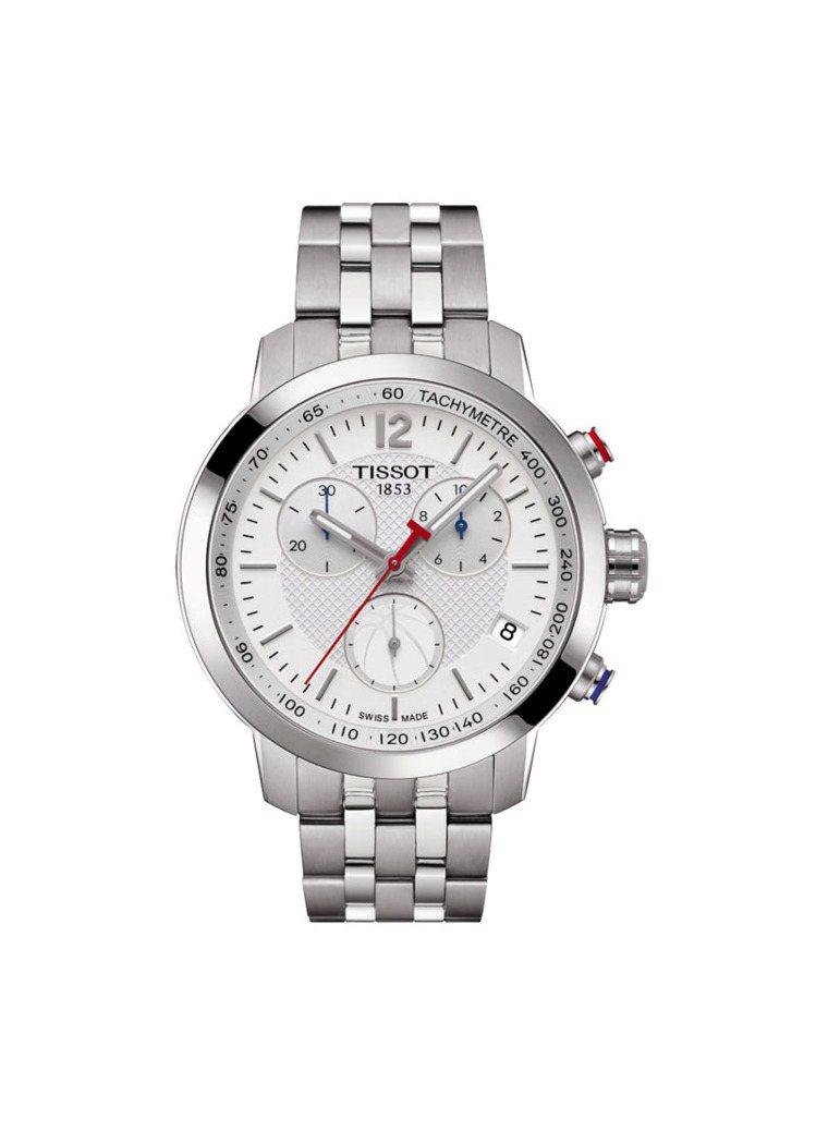 天梭PRC 200系列NBA 特別版腕表,16,900元。圖/Tissot提供