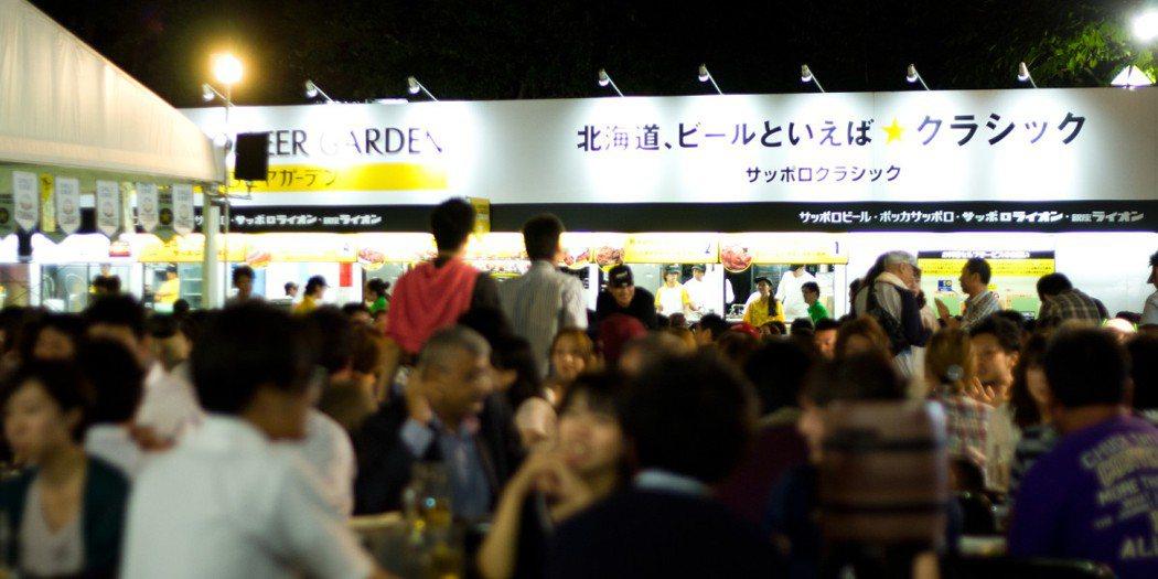 札幌夏日祭的「札幌大通啤酒園」每年舉辦一個月,吸引100萬人次以上遊客。 圖擷...