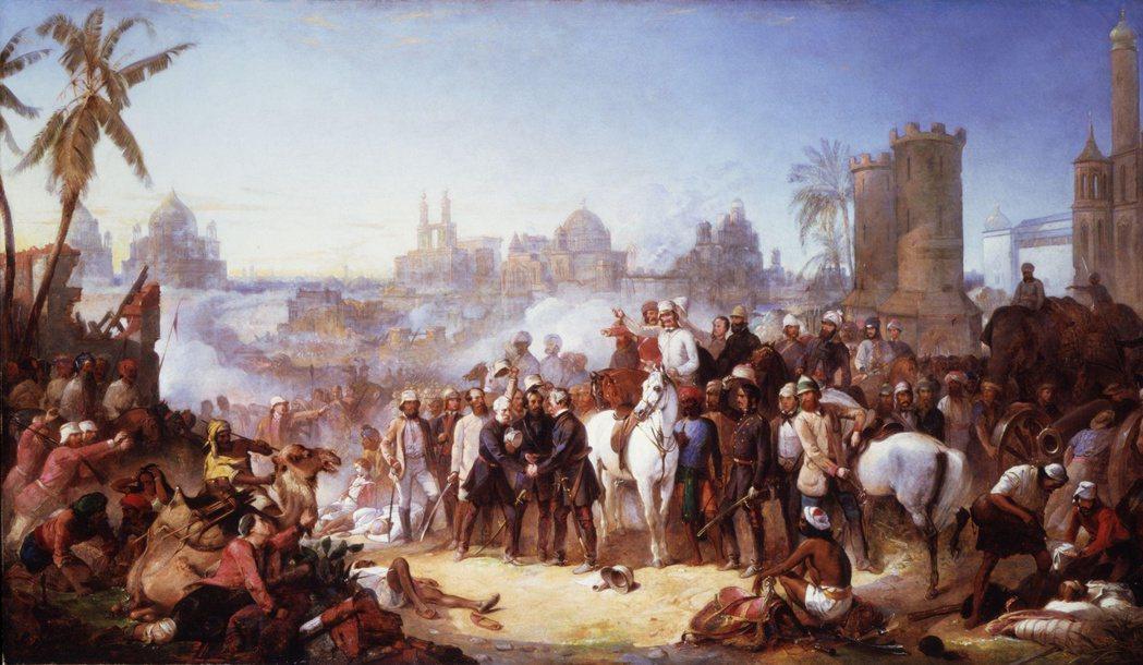 1857年,印度本土爆發民族起義運動,反抗行動直到兩年後才被英國鎮壓平定,此後,...