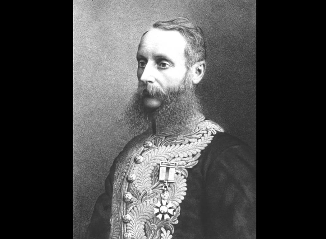 當時的海峽殖民地總督威德,對於大量湧入新加坡的華人感到憂慮。 圖/維基共享