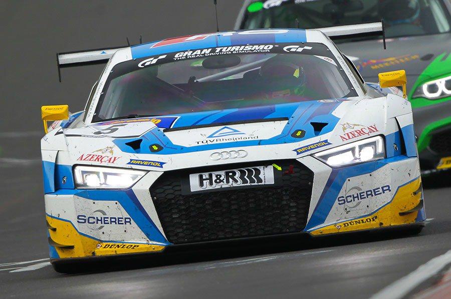 今年的紐柏林VLN耐久賽季已於4月2日正式開始,Audi車隊以全新R8 LMS GT3賽車在總長約24公里的賽道上進行4小時耐久賽,其中Phoenix Racing所駕駛的5號車以第5位置起跑,最後超越所有對手,奪得開幕賽冠軍。 Audi提供