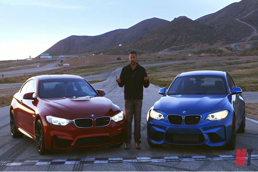 BMW M2的誕生讓市場上有了更划算的選擇,也不免要拿其與M4比較一番。 截自...