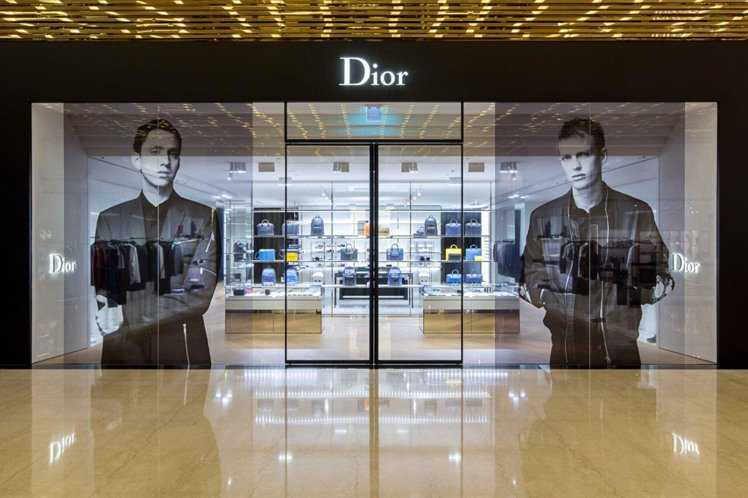 Dior Homme於微風信義開設全新男裝精品店。記者陳若齡/攝影