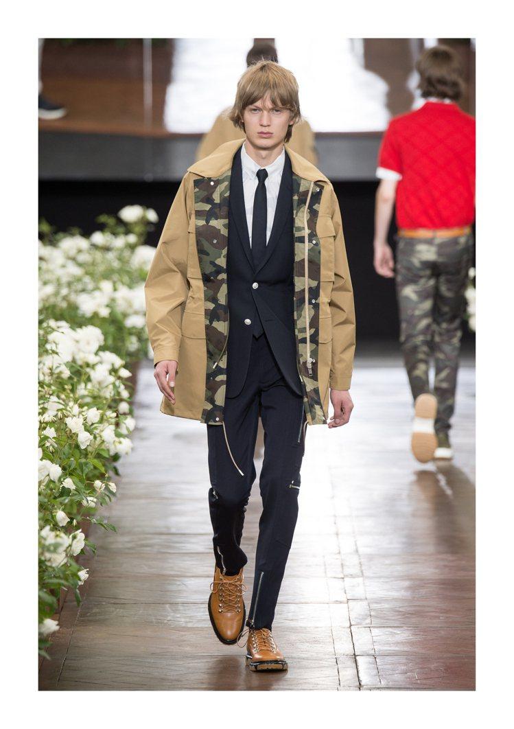Dior Homme 2016夏季男裝系列。圖/Dior提供