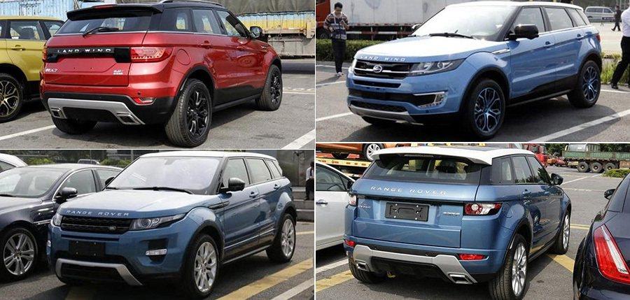 模仿 Range Rover Evoque的 Landwind X7陸風 X7。...