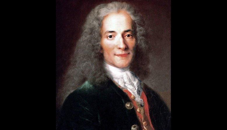 法國哲學家伏爾泰(Voltaire)。 圖/維基共享