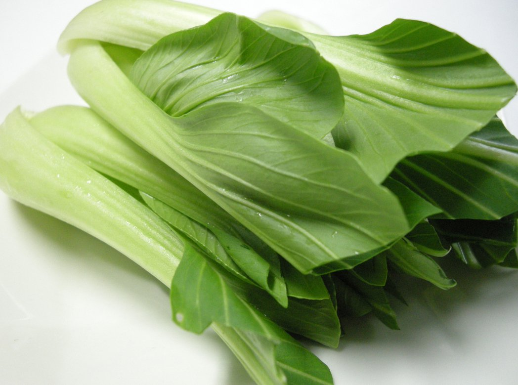 青江菜。 報系資料照