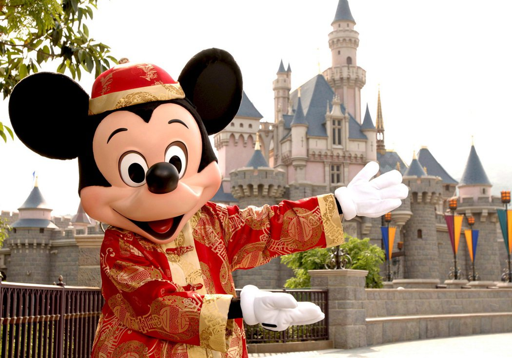 香港迪士尼樂園。 圖/歐新社
