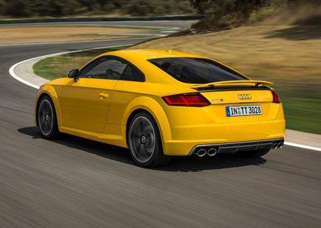 小改款Audi TTS 冬季測試捕獲