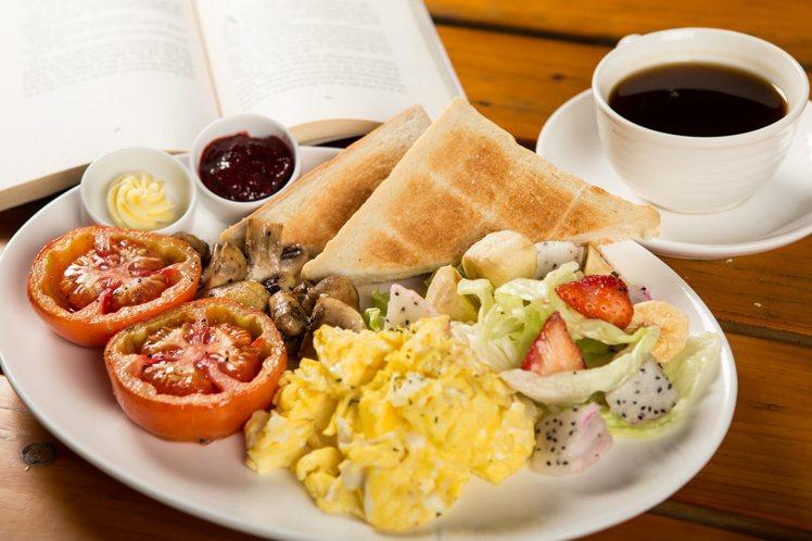 愛健康早餐。圖/Alleycat's提供