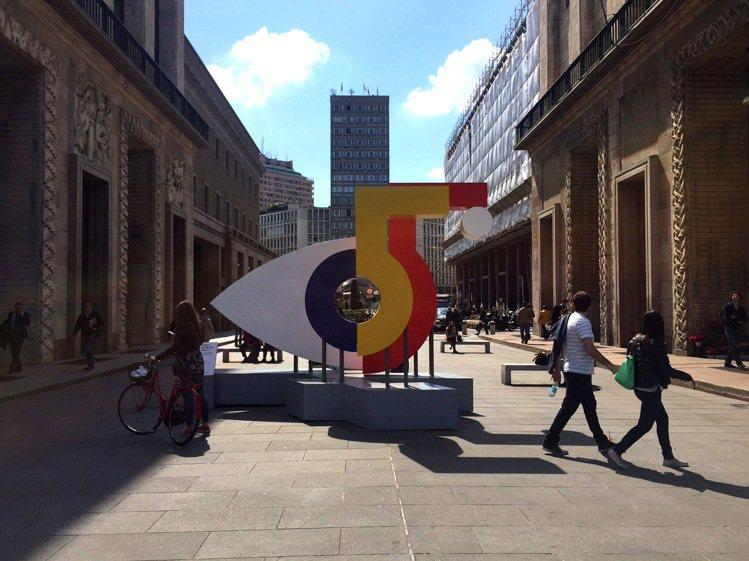 米蘭國際家具展今年邁入第55年。記者吳雨潔/米蘭攝影