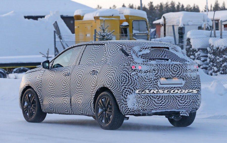 全新peugeot 3008預計在今年秋天的巴黎車展中發表。 摘自carsco...