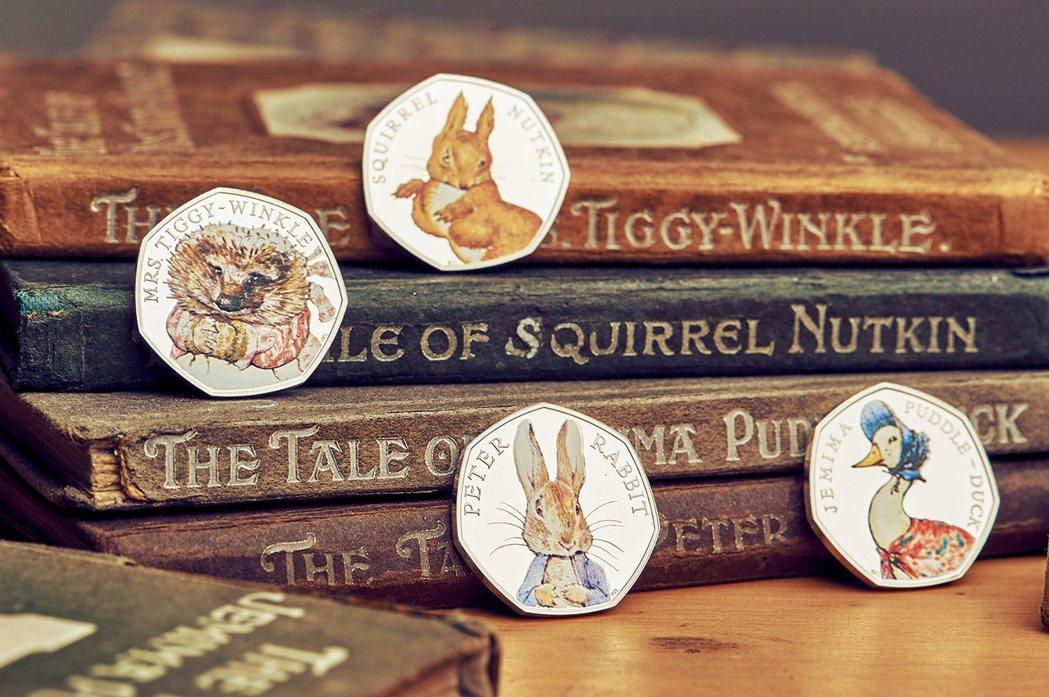 2016年英國皇家鑄幣廠為「比得兔」的創作者——碧翠絲.波特——150歲生日紀念...