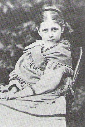兒時的波特(約8歲)。 圖/維基共享