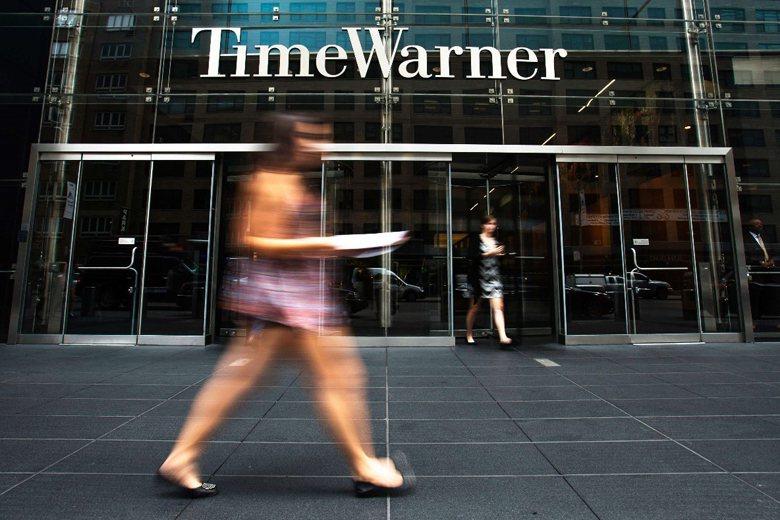 Time Warner位於紐約的大樓。 圖/路透社