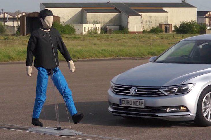 五款對行人最友善的車種 獲Euro NCAP認證