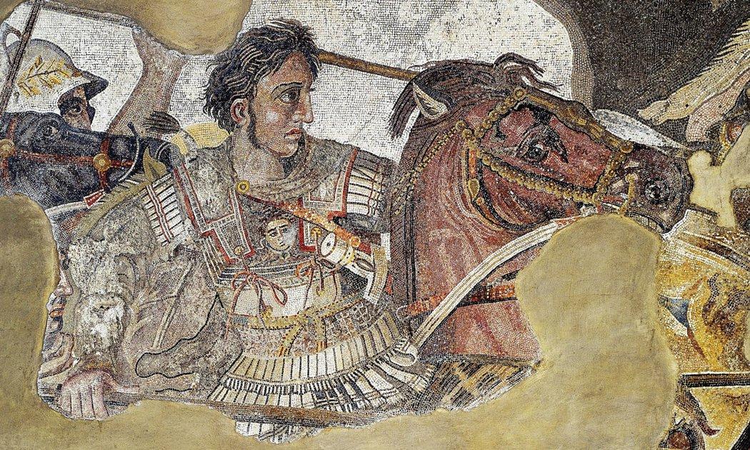 亞歷山大大帝,直到現在都稱得上是「最有名的馬其頓人」。 圖/維基共享
