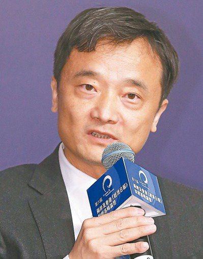 中國經濟景氣監測中心副主任潘建成 記者高彬原/攝影
