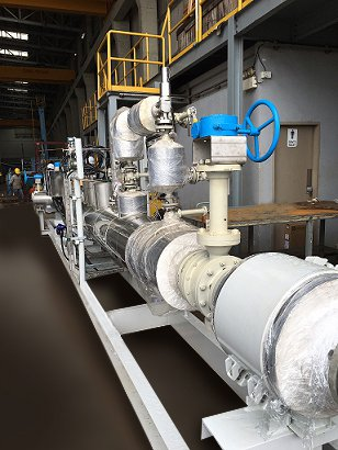JDV進典靠著台灣精品控制閥,拿下新加坡石油天然氣公司大單,深獲各國際大廠喜愛。