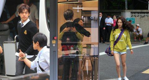 「橙汁CP」愛到台灣啦!話說智孝歐妮昨日來台,就是要和陳柏霖合體,拍攝「我們相愛吧!」。噓編現場直擊民生社區拍攝中,智孝2:40來到現場,「男友」陳柏霖則是晚了20分鐘到,兩人一見面就來個先抱抱,顯...