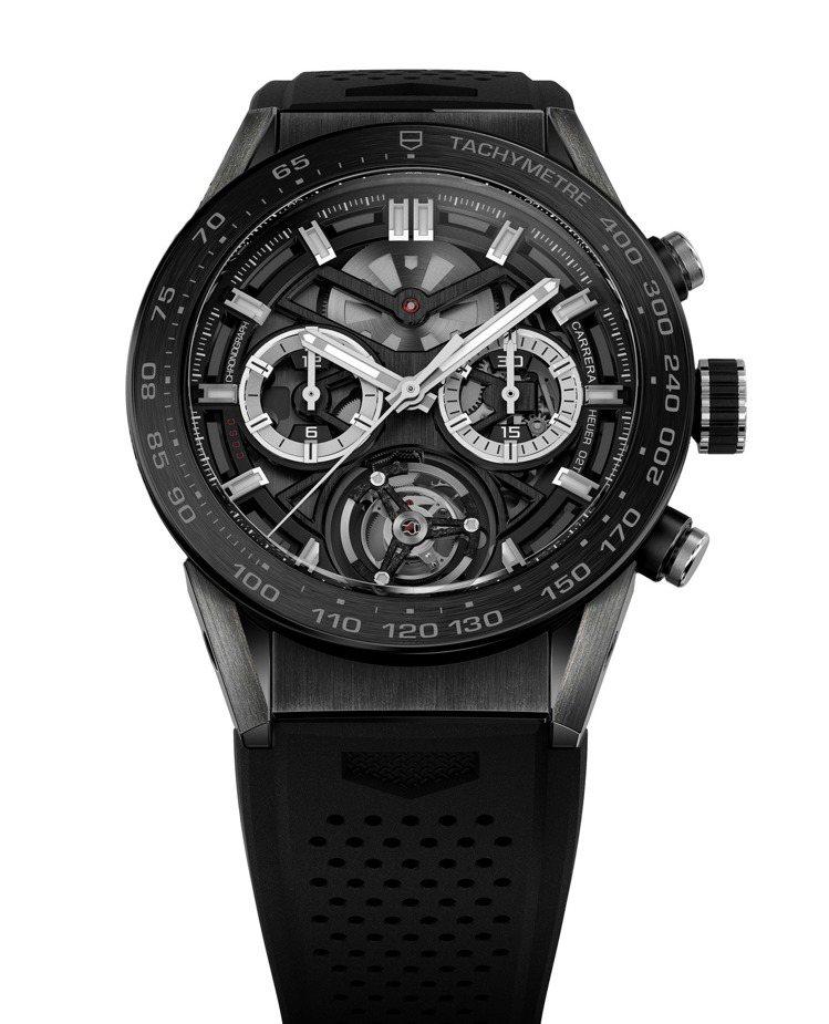 Carrera Heuer-02腕表,51萬9,950元。圖/TAG Heuer...
