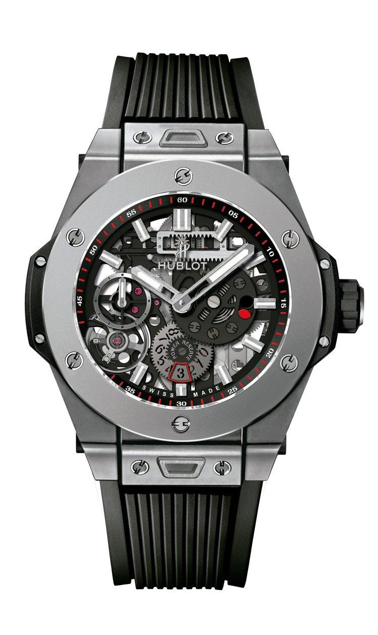 BIG BANG MECA-10鈦金屬腕表,66萬2,000元。圖/TAG He...