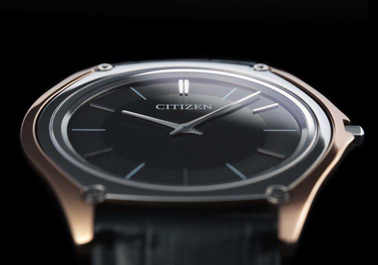 挑戰全球最薄的Eco-Driver One光動能腕表,約6,000美元。圖/Ci...