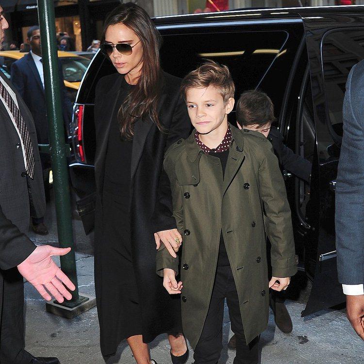 貝克漢次子羅密歐則是徹底遺傳爸媽的時尚品味,從小就對自己的穿搭很有意見。圖/擷取...