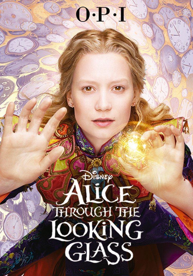 OPI愛麗絲魔境夢遊系列 8款新色 5:6微風之夜全台獨家首賣。圖/OPI提供