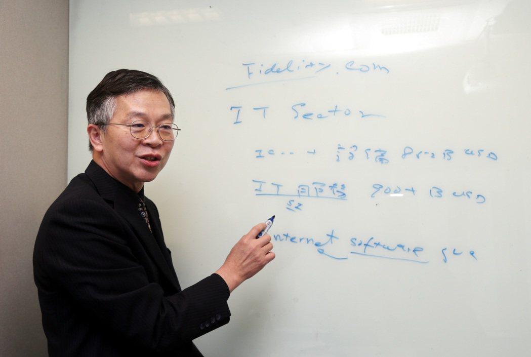 叡揚資訊董事長張培鏞 。記者林俊良/攝影 林俊良