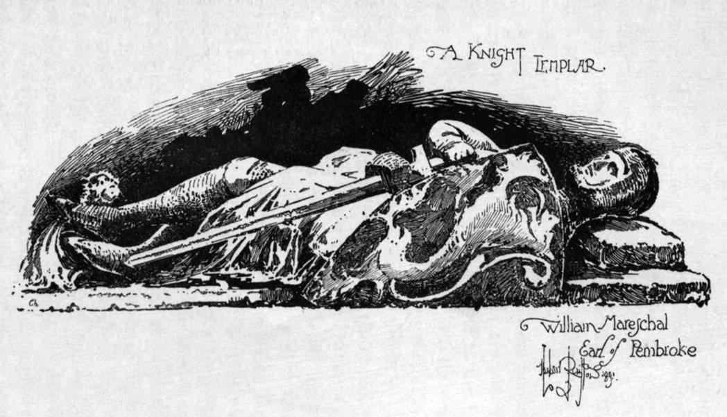 修道院的創辦人,威廉.馬歇爾爵士居中協調,說服約翰王於1215年簽下大憲章,促使...