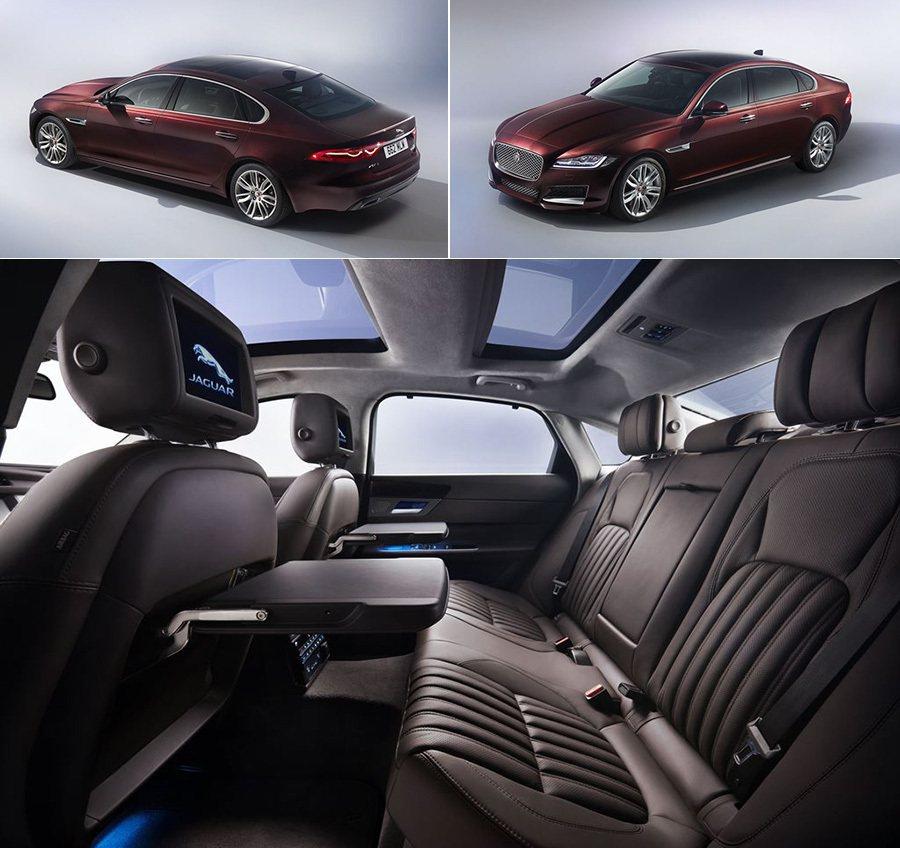 Jaguar XFL加長型轎車 Jaguar提供