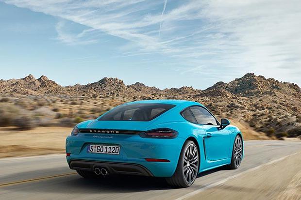 全新Porsche 718 Cayman T 紐伯林測試現身