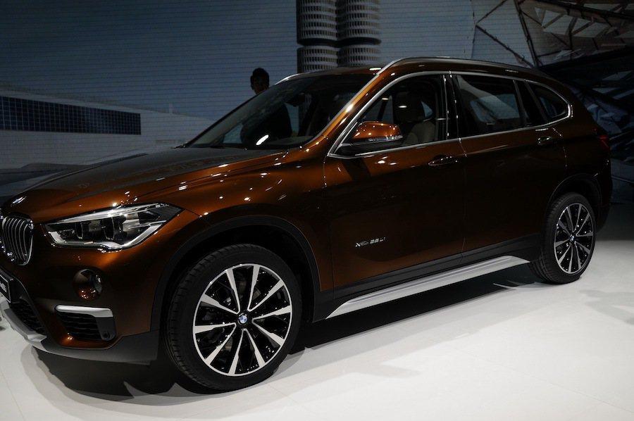 長軸版本的BMW X1在北京車展發表。 摘自carscoops.com