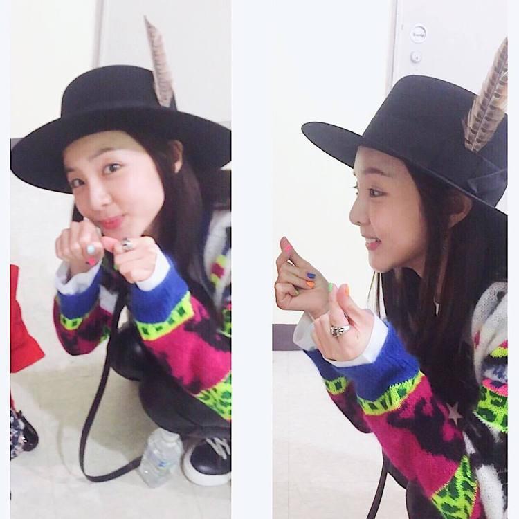 Dara。圖/擷自instagram