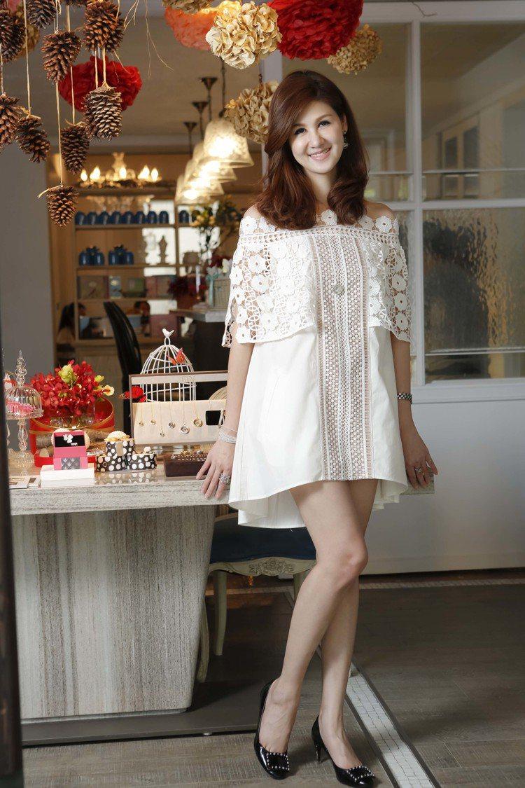 孫珮頤Peggy Sun,自創FairyQ時尚飾品品牌。圖╱FairyQ提供