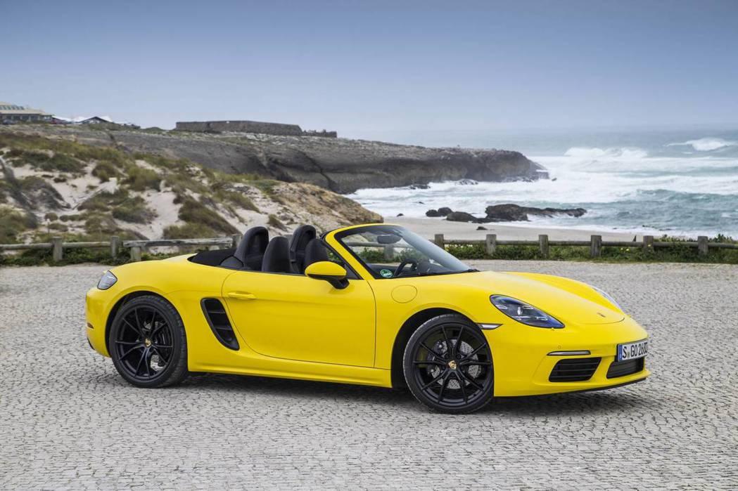現行Porsche 718 Boxster。 圖/Porsche提供