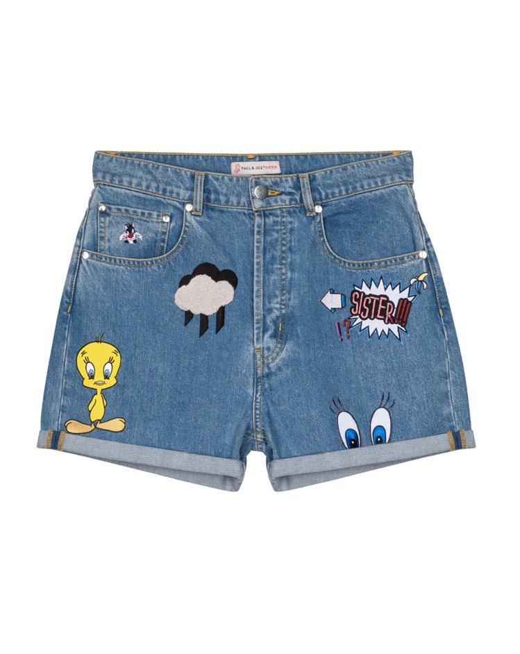 華納俏皮牛仔褲$8800。圖/PAUL & JOE SISTE提供
