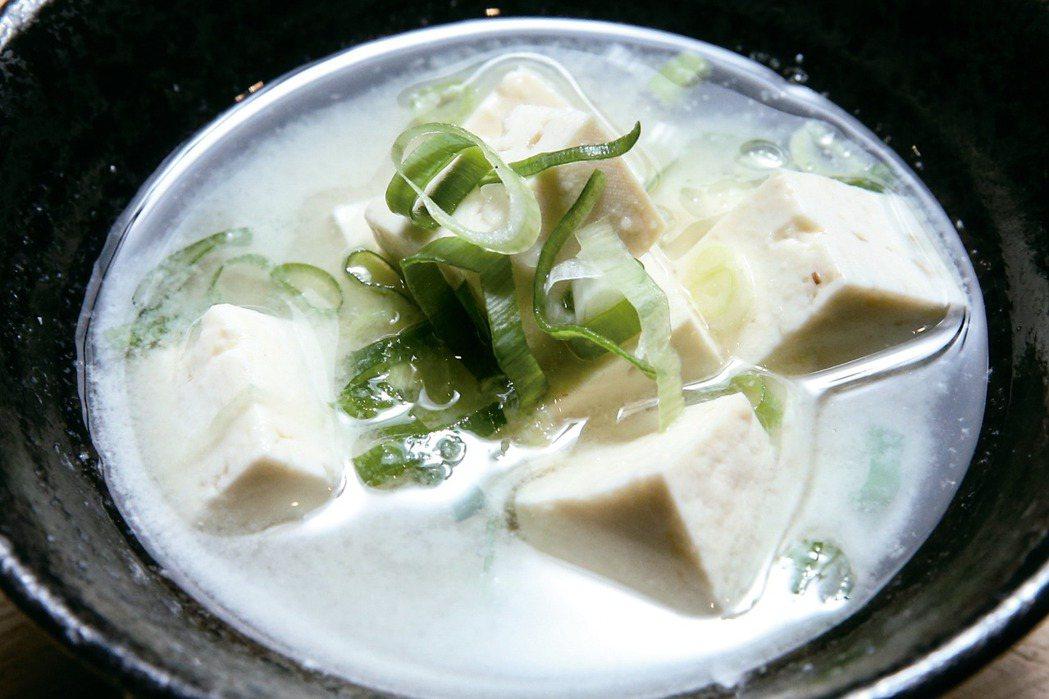 昆布味噌湯 記者程宜華/攝影
