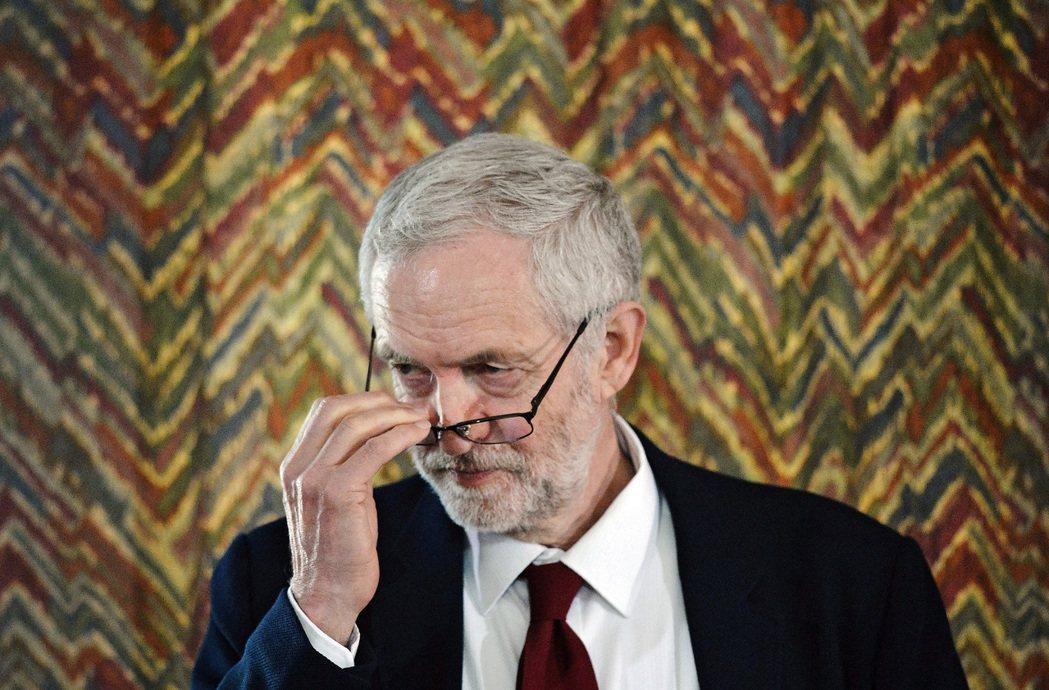 這次的地方大選考驗柯爾賓出任工黨黨魁一職的領導能力。 圖/歐新社