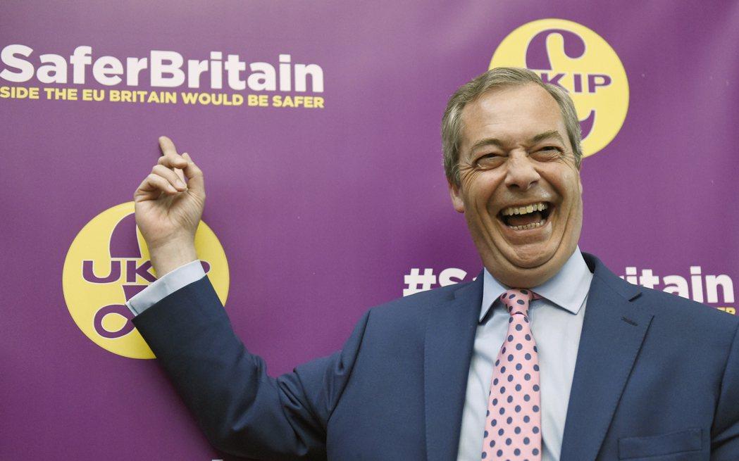 Ukip黨魁法拉吉(Nigel Farage)對威爾斯選情展現極高信心,「會有突...