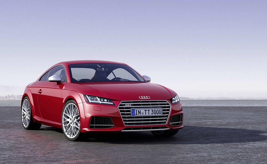 第三代Audi TT則是集品牌科技大成,風評相當不錯。 Audi提供