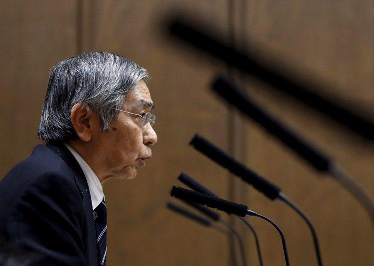 黑田:日圓升值對經濟帶來不樂於見到的影響。(路透)