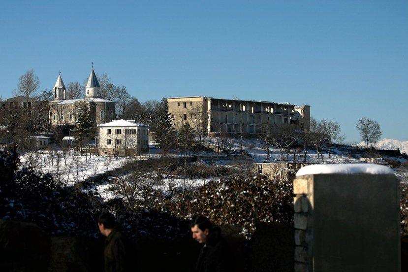 景色美如畫的舒沙(Shusha)是戈爾諾-卡拉巴赫的「首都」。 圖/歐新社