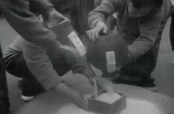 為回應「節米運動」,各地甚至還發起「無米日」以「節省米源」。 圖/大韓民國文化體...