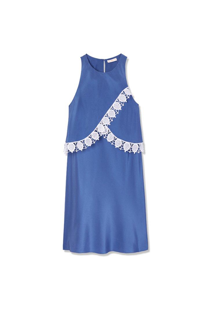Amanda Dress in Hudson Blue ,900。圖/To...